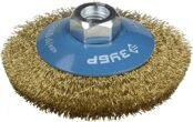Cone-shaped Wire Brush for Angle Grinder Ø100mm 3Y6P PROFESSIONAL