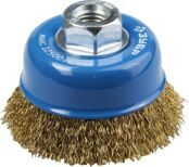 Cup-shaped Wire Brush for Angle Grinder Ø75mm 3Y6P PROFESSIONAL