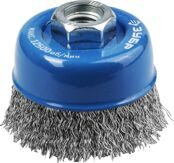 Cup-shaped Wire Brush for Angle Grinder Ø60mm 3Y6P PROFESSIONAL