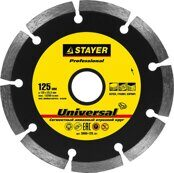 Segmented Diamond Saw Blade STAYER 125mm