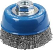 Cup-shaped Wire Brush for Angle Grinder Ø100mm 3Y6P PROFESSIONAL