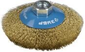 Cone-shaped Wire Brush for Angle Grinder Ø115mm 3Y6P PROFESSIONAL
