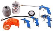 Set of Accessories (5 items) for Air Compressor