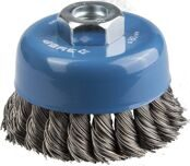 Cup-shaped Wire Brush for Angle Grinder Ø80mm 3Y6P PROFESSIONAL