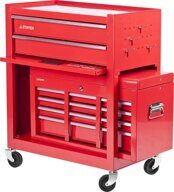 Tool Cart 2 drawers + Tool Box 6 shelves STAYER TECH